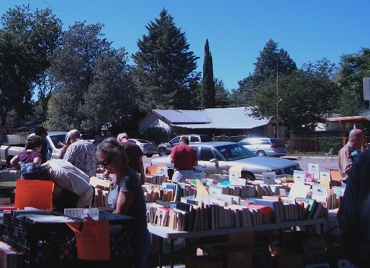 Fall Festival book sale
