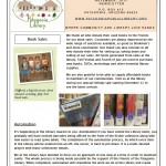Friends Newsletter Page1