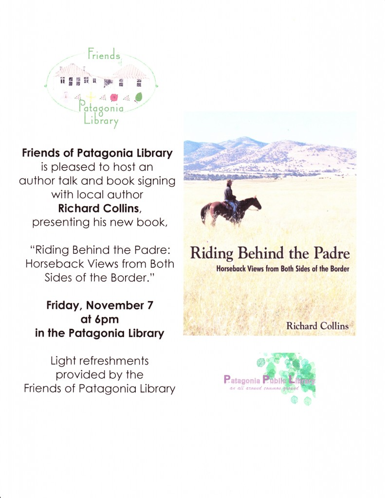Riding Behind the Padre